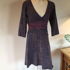 Patagonia large cotton and spandex dress